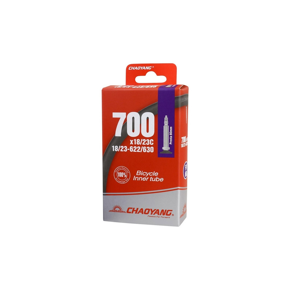 Camera d'Aria Autosigillante Antiforatura 700x23-28 Valvola Presta 80mm