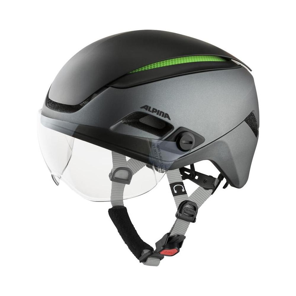 Helmet Altona Charcoal/Anthracite Matt Size S/M (52-57cm)