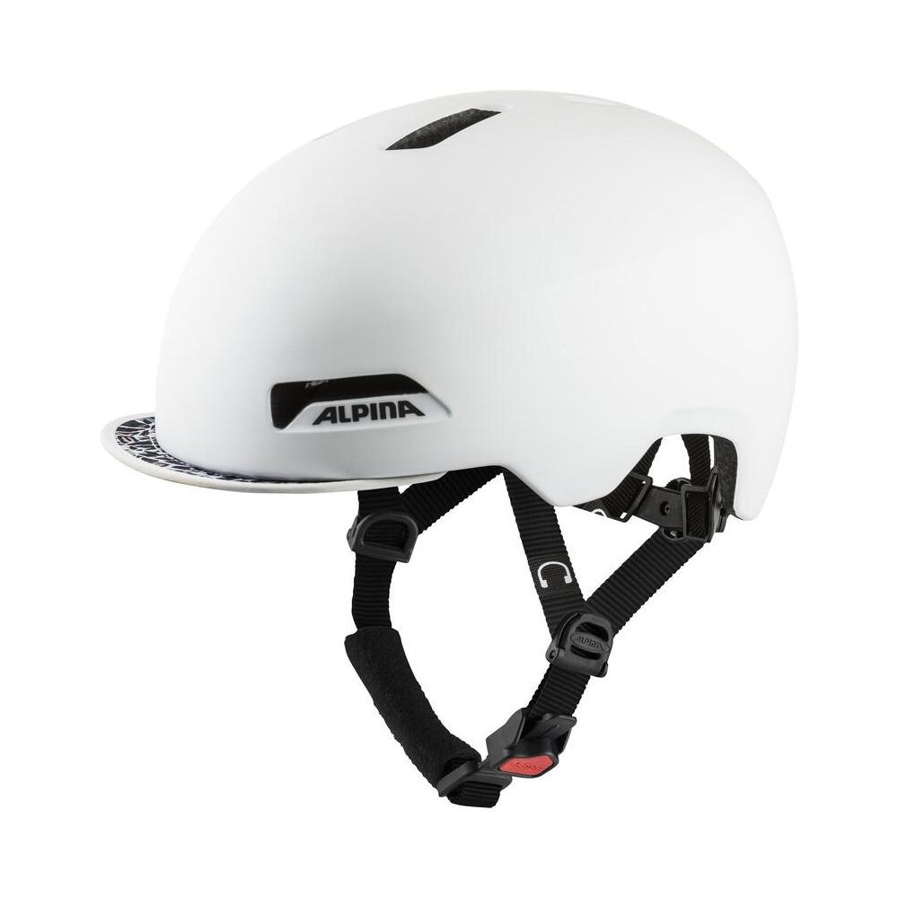 Helmet Brooklyn Pearl White Matt Size S/M (52-57cm)
