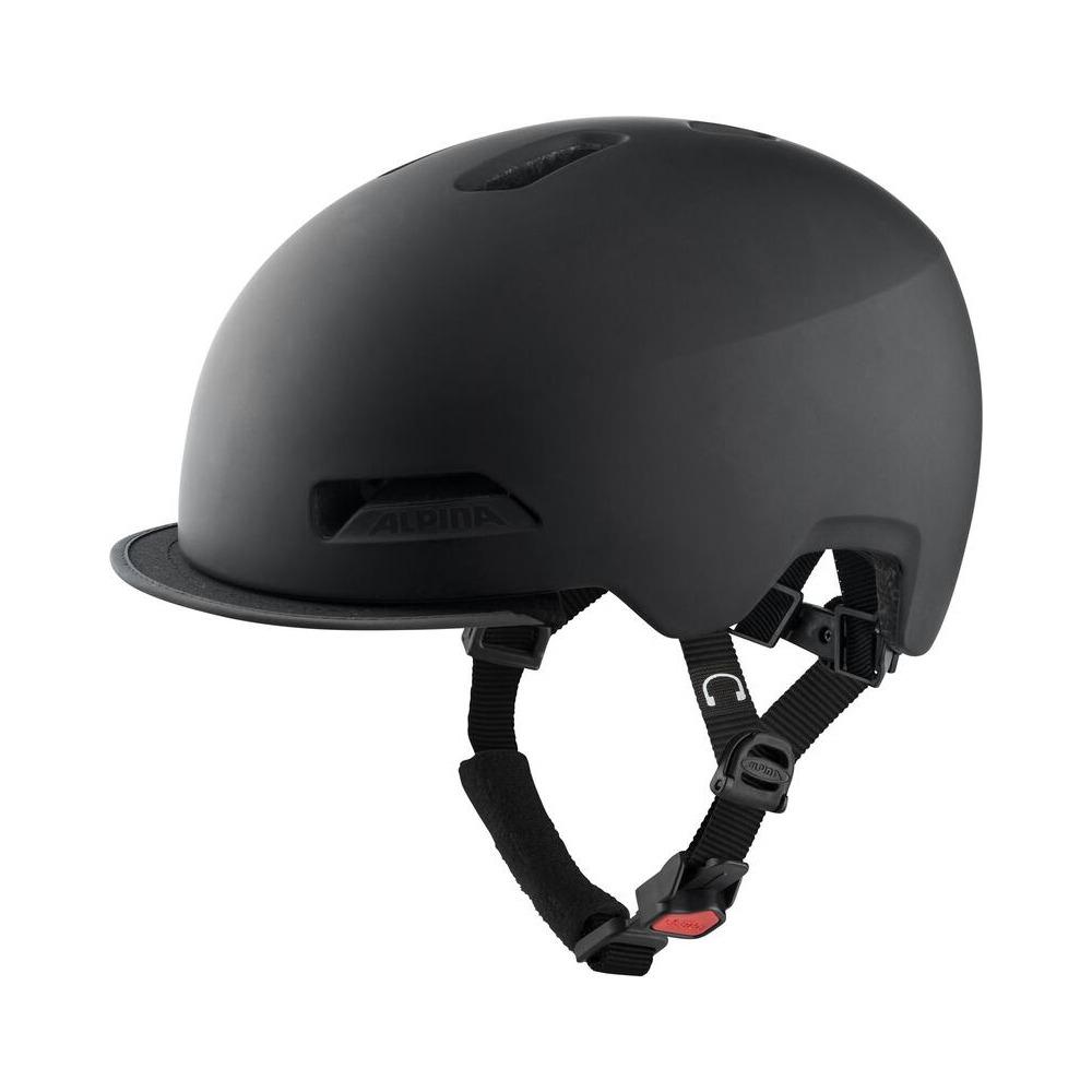 Helmet Brooklyn Black Matt Size S/M (52-57cm)