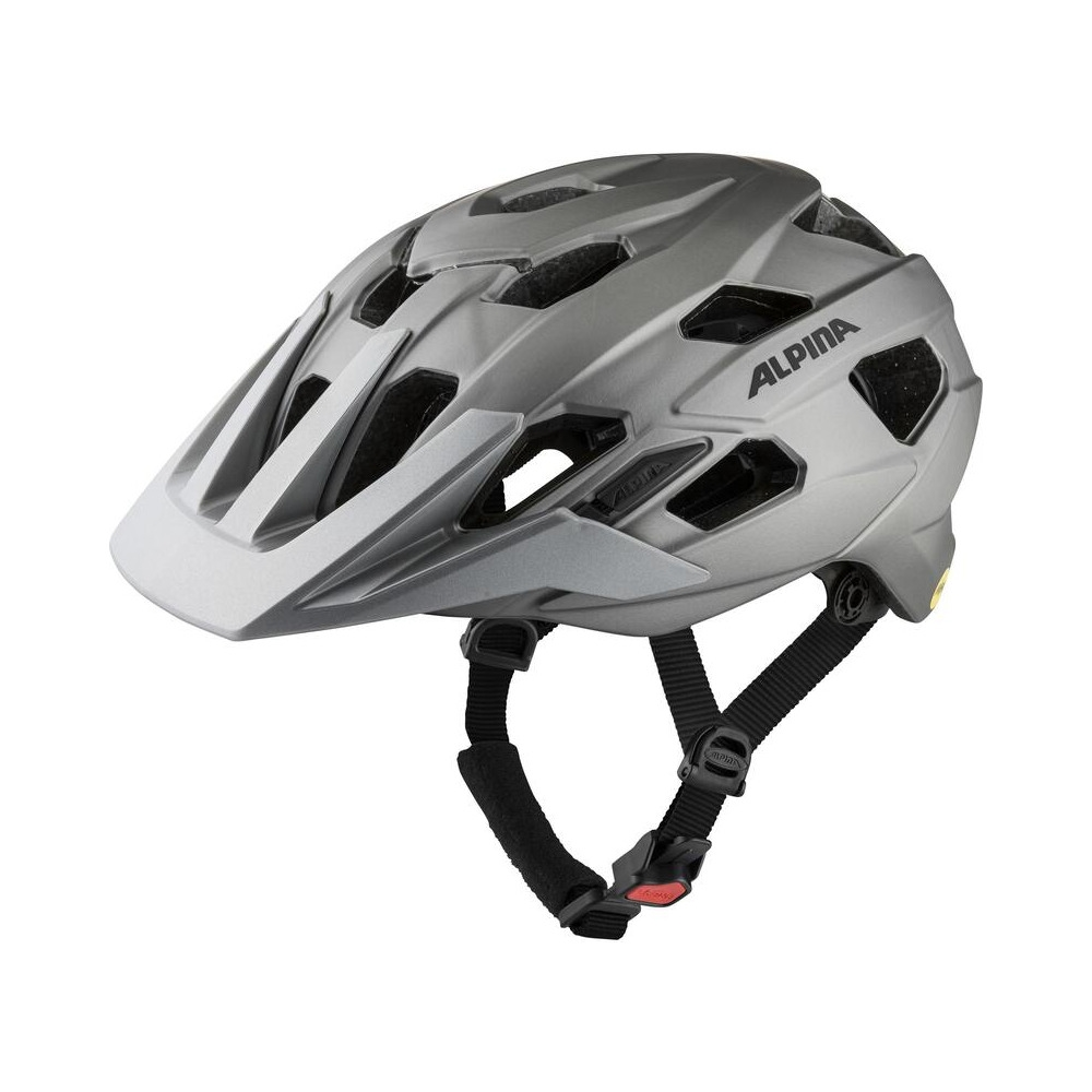 Helmet Plose Mips Dark Silver Matt Size S/M (52-57cm)