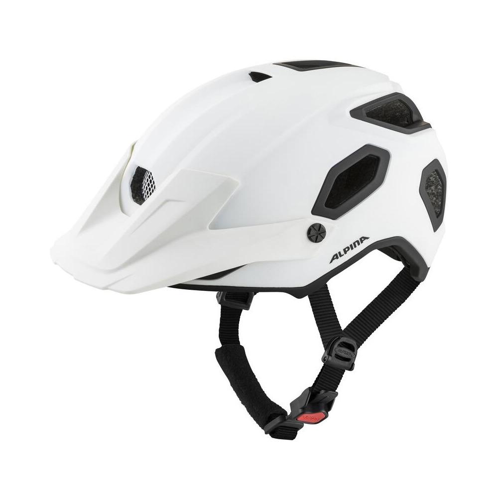 Helmet Comox White Matt Size S/M (52-57cm)