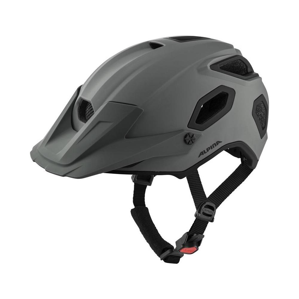 Helmet Comox Coffee/Grey Matt Size S/M (52-57cm)