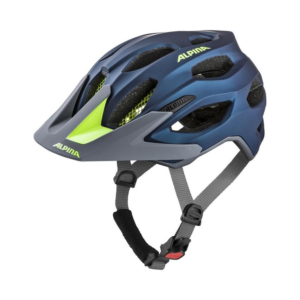 Helmet Carapax 2.0 Dark Blue/Neon Size S/M (52-57cm)