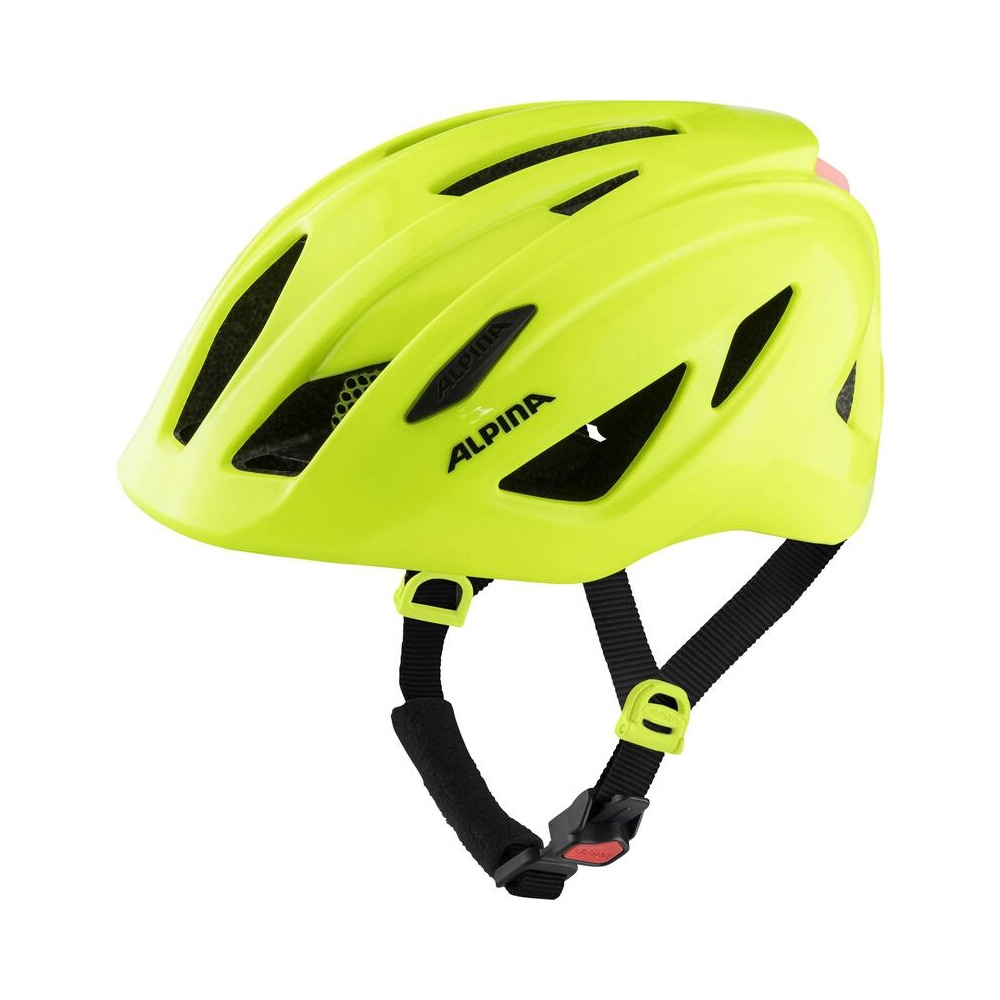 Junior Helmet Pico Flash Be Visible Gloss One Size (50-55cm)