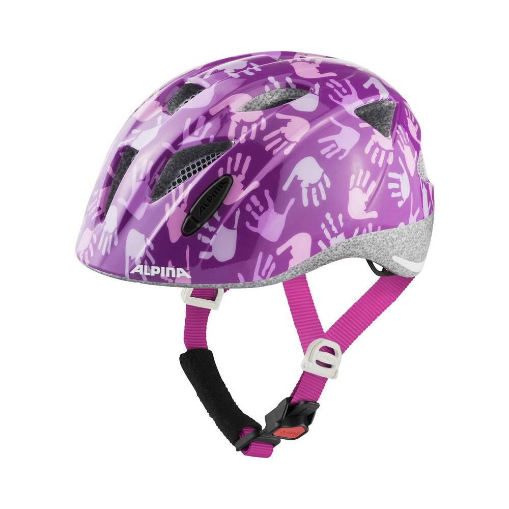 Junior Helmet Ximo Berry Hands Gloss Size S (45-49cm)