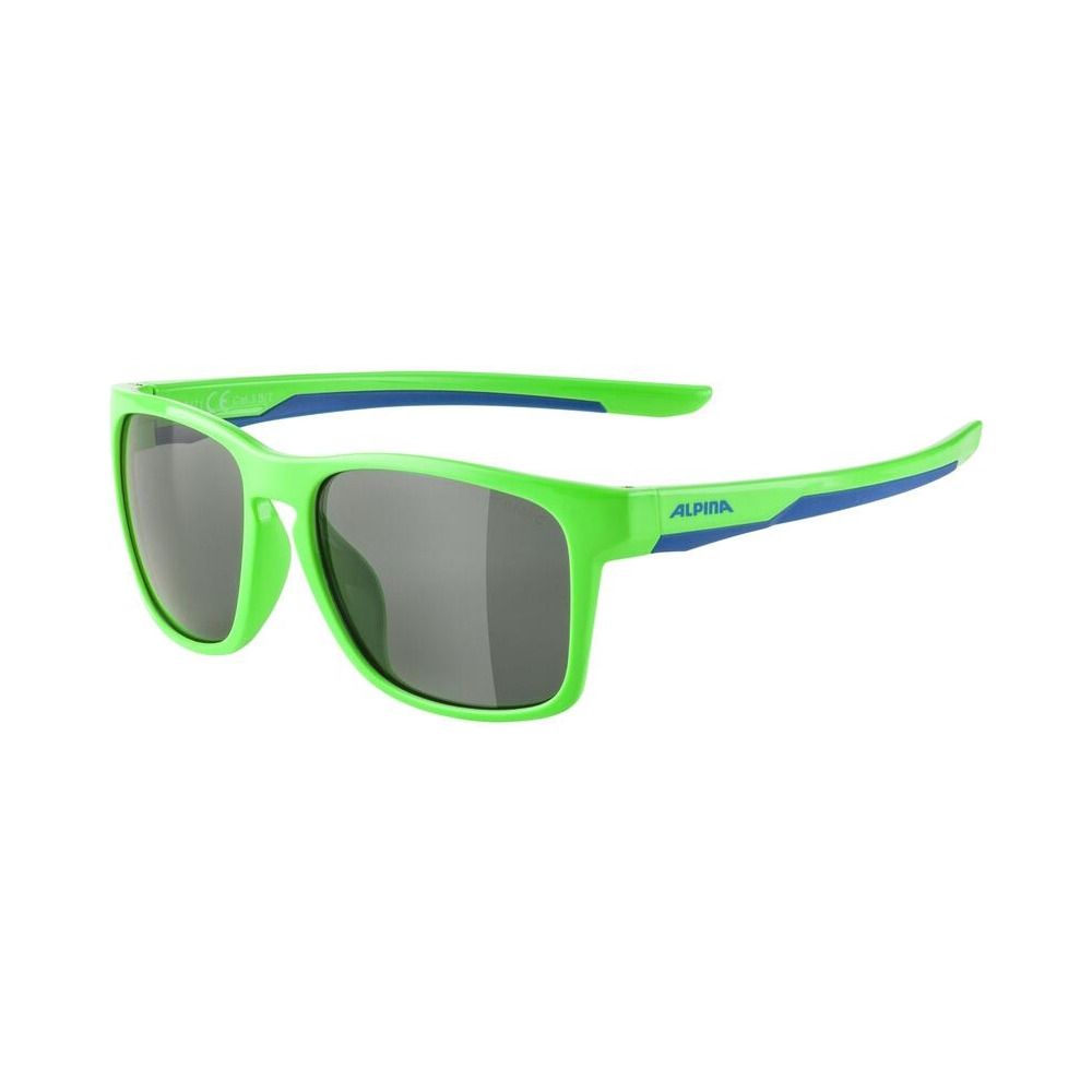 Junior Glasses Flexxy Cool Kids I Neon Green/Blue / Ceramic Lens Black