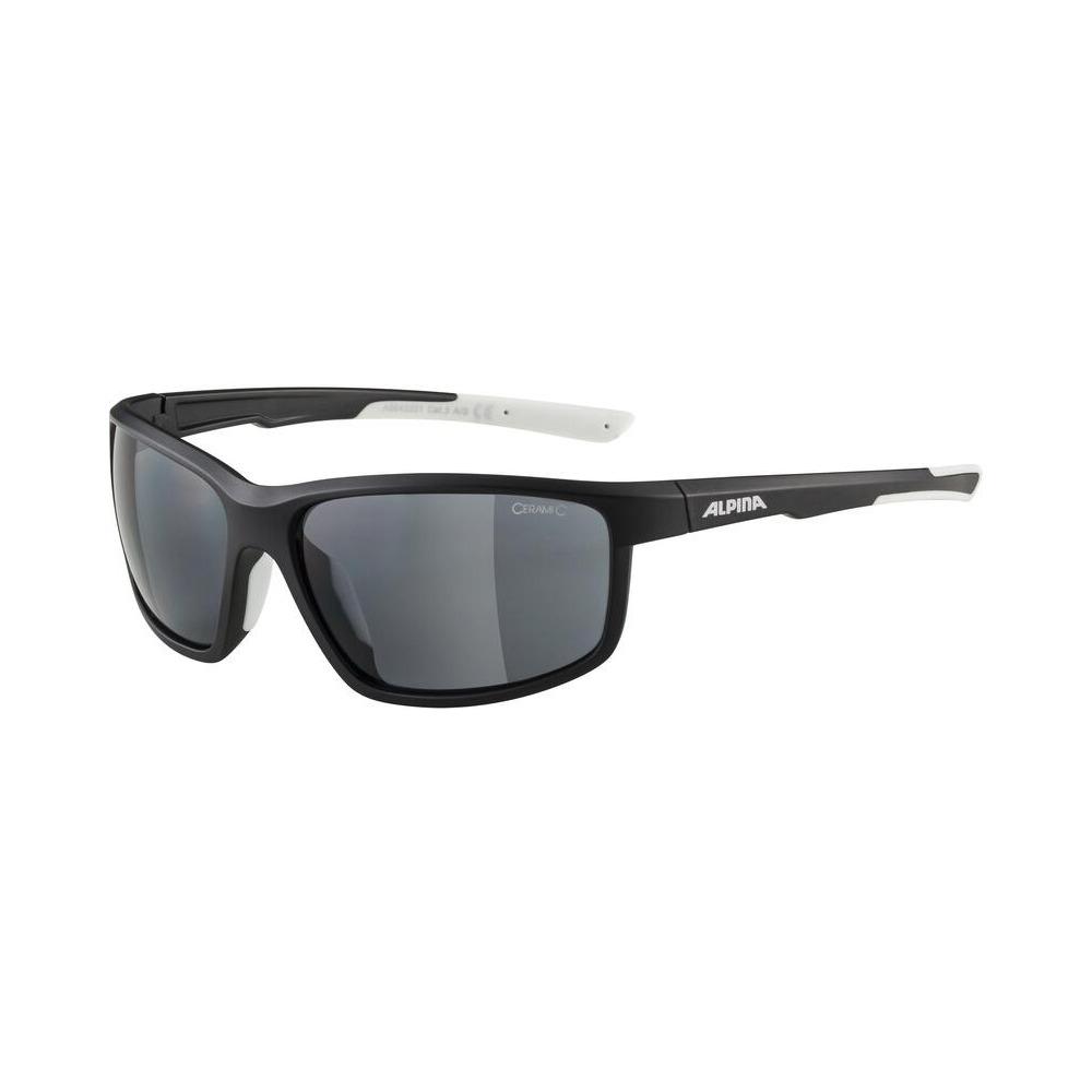 Glasses Defey Black Matt/White / Ceramic Lens Black