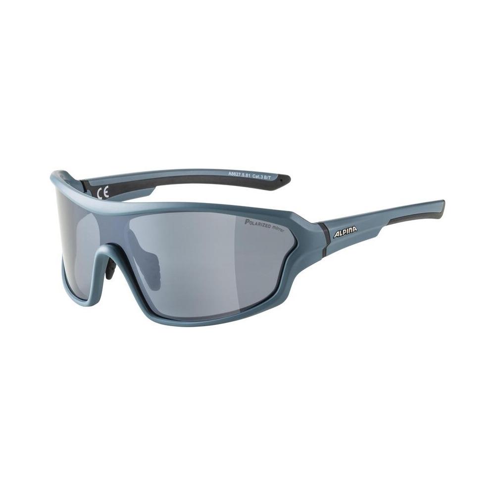 Glasses Lyron Shield Q Dirtblue Matt / Polarisation Lens Black