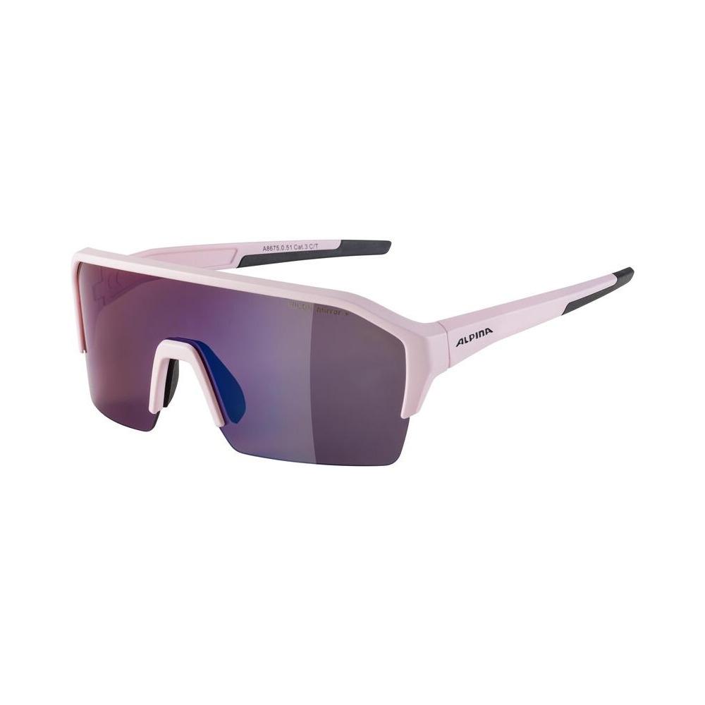 Glasses Ram Hr Q-Lite Light/Rose Matt / Mirror Lens Blue