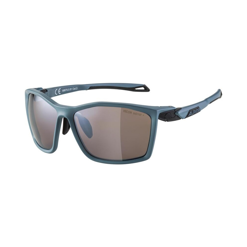 Glasses Twist Five Q-Lite Dirtblue Matt / Mirror Lens Black