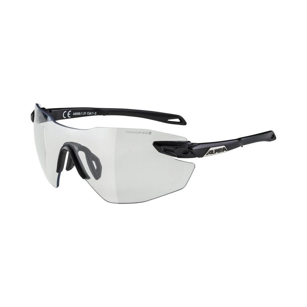 Glasses Twist Five Shield Rl V Black / Varioflex+ Lens Black