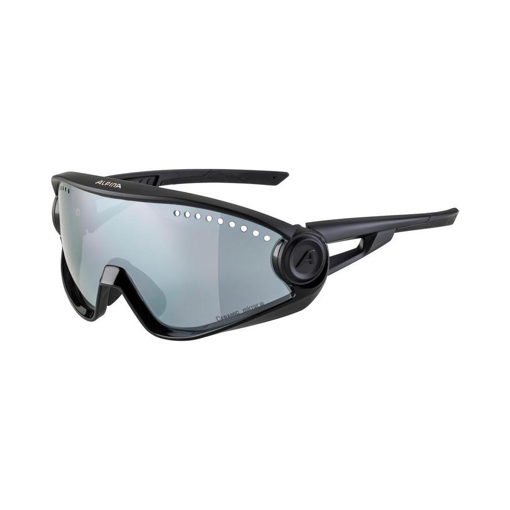 Glasses 5W1NG Black / Veramic Mirror+ Lens Black