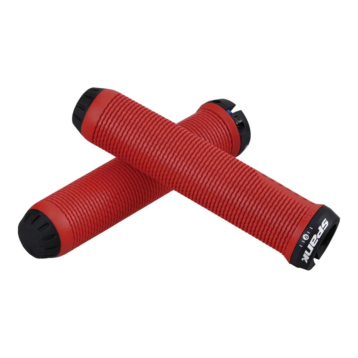 Manopole Spike 30 Lock-on 30mm x 145mm Rosso