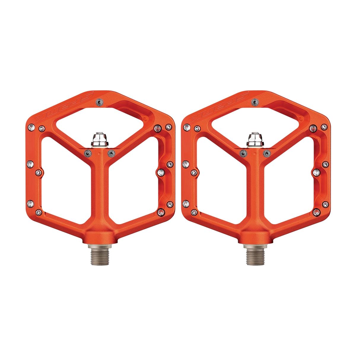 Flat Pedals Pair Oozy Reboot Orange