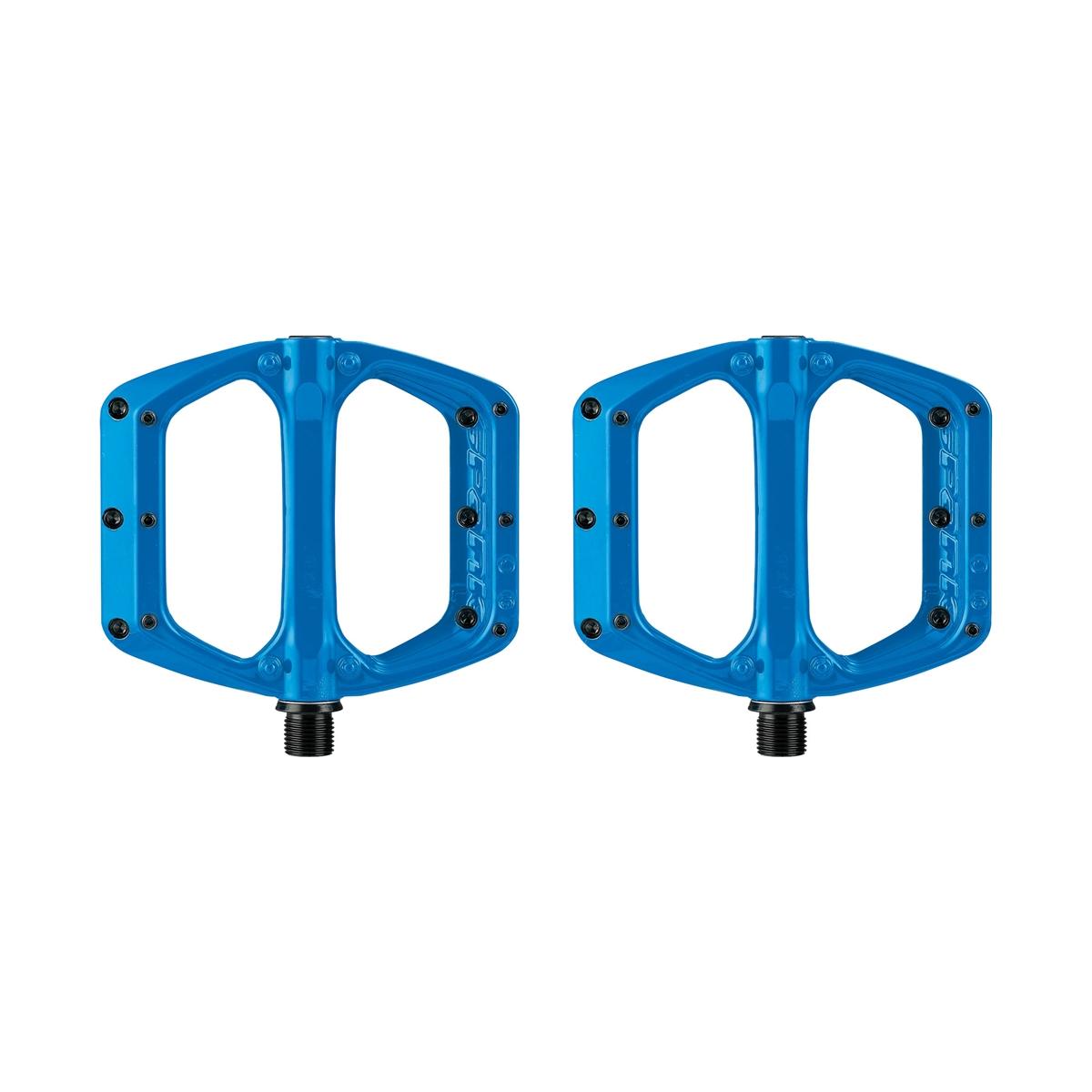 Flat Pedals Set Spoon DC Blue