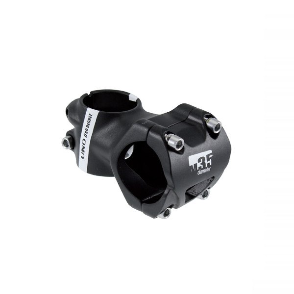 Attacco Manubrio 35mm x 35mm Alluminio 4° Nero