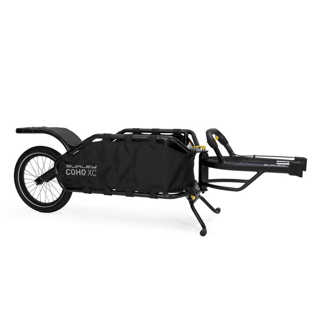 Rimorchio Bici Cargo Coho XC Nero 70L