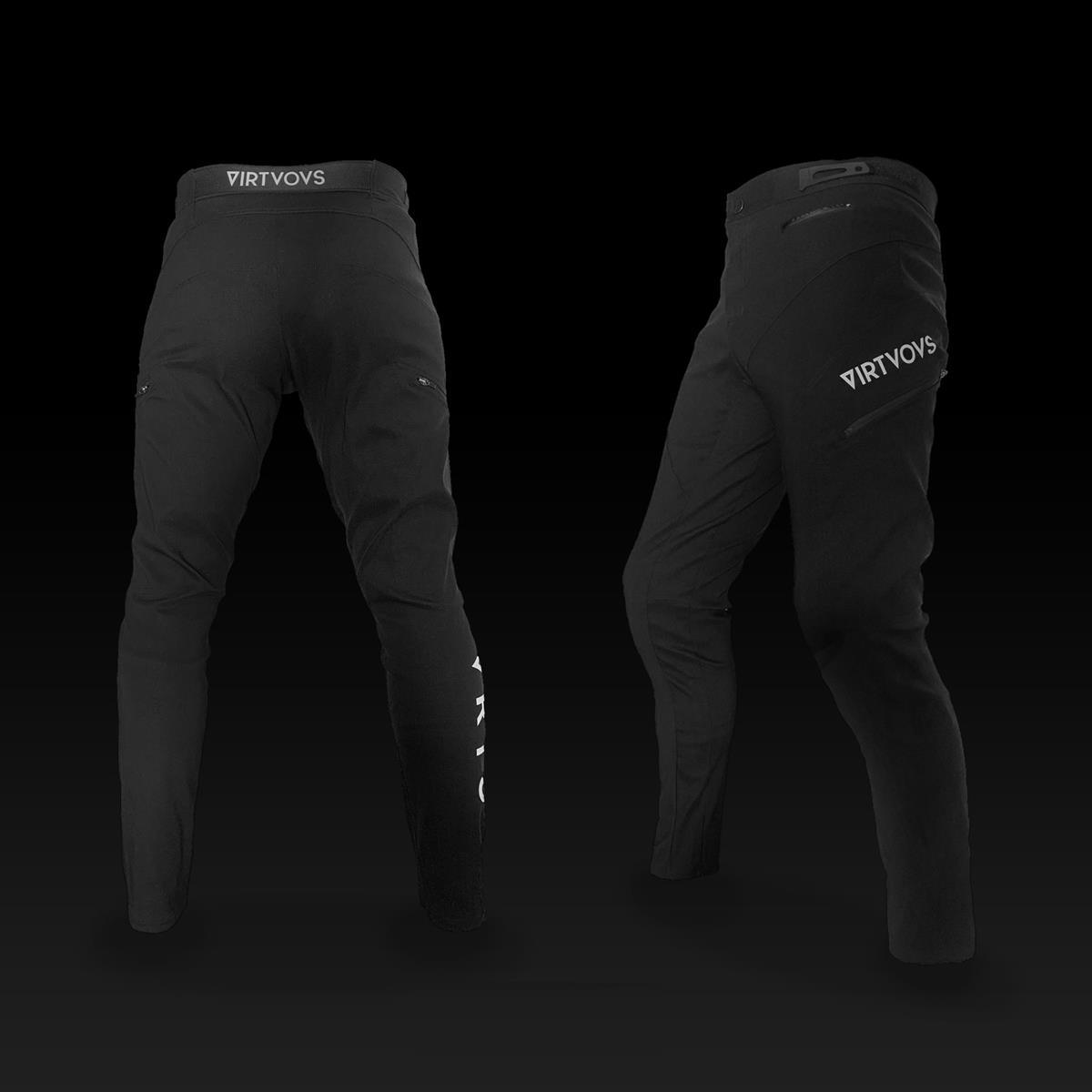 Pantaloni Freeride pants nero taglia S