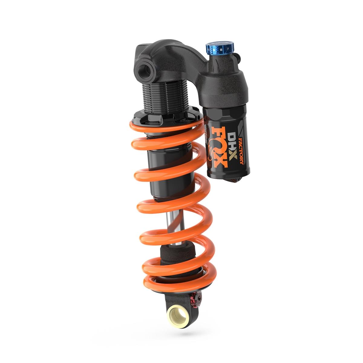 Rear Shock DHX CR Factory 2Pos-Adj CM+ RM Rezi LM Trunnion Metric 185x55mm 2022 Without Spring
