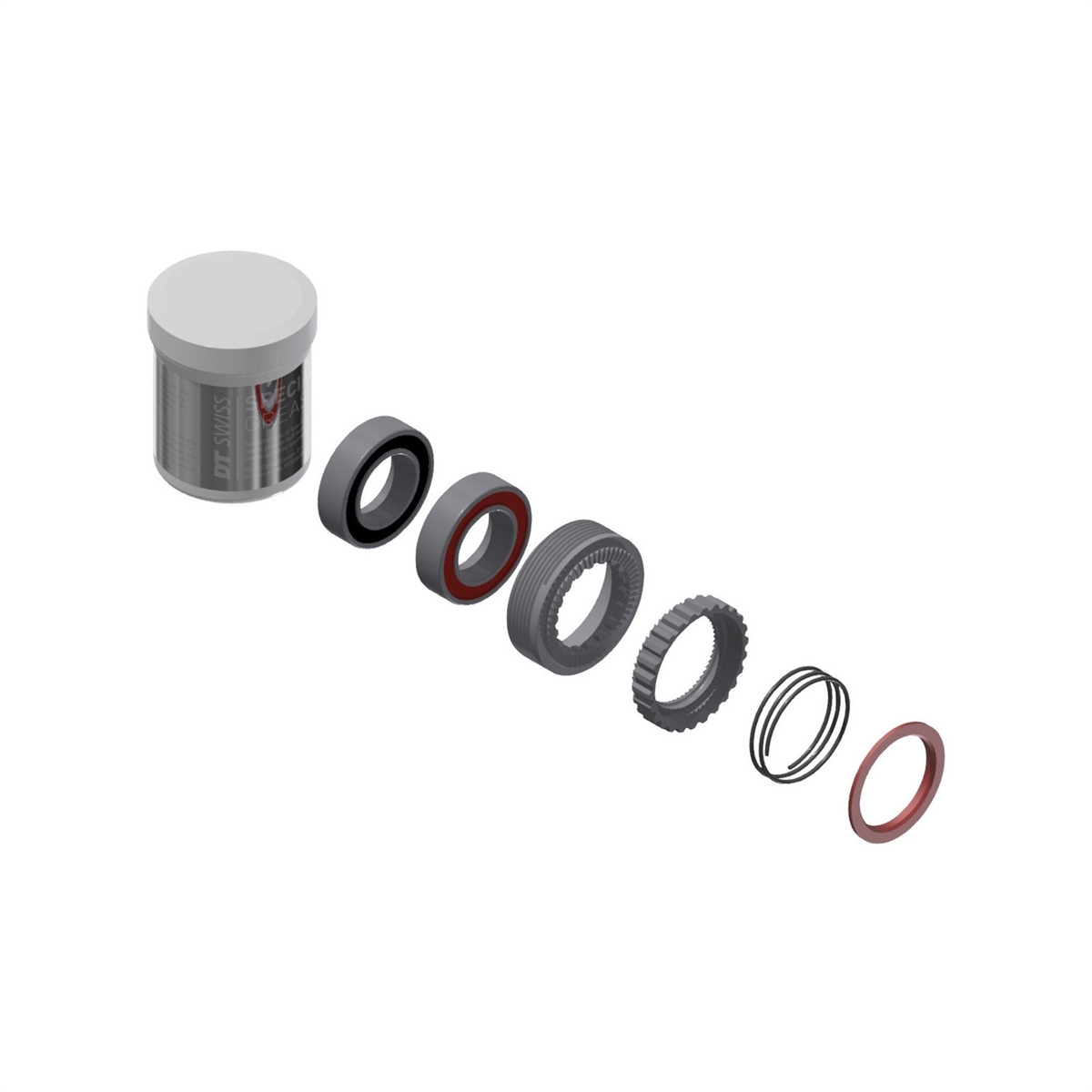 Service Kit Ratchet 54T 240 EXP With Bearings