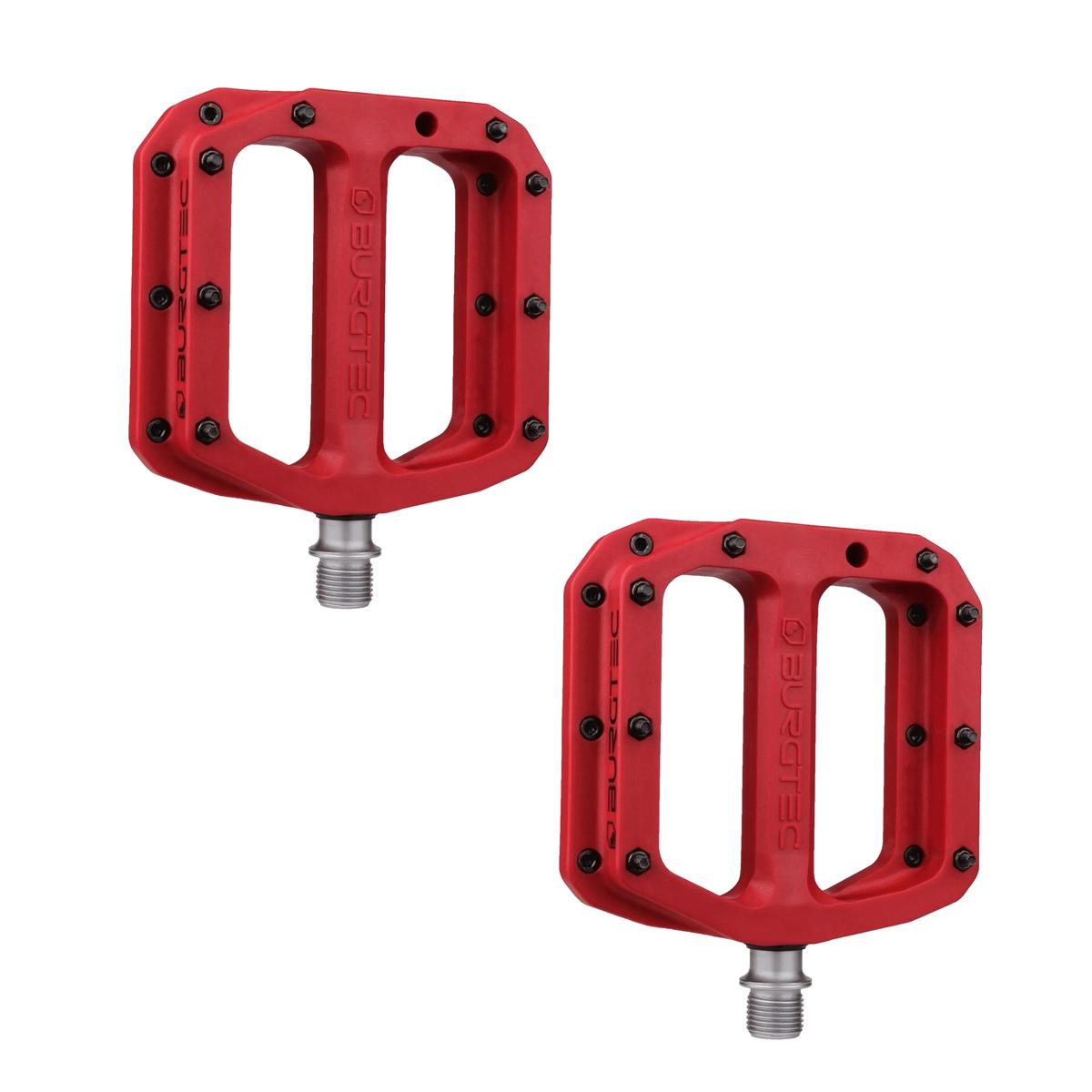 Flat Pedals Set MK4 Composite 1502 Red