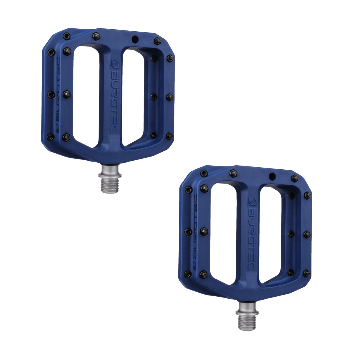 Flat Pedals Set MK4 Composite 1503 Blue