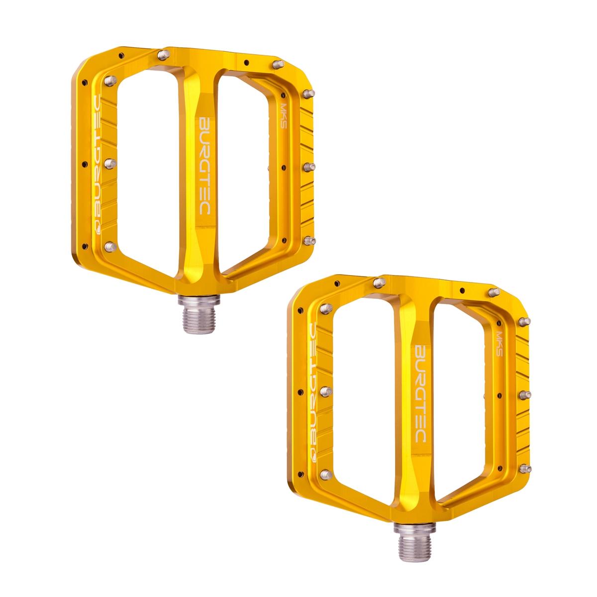 Pedals Set Flat Penthouse MK5 1608 Aluminum Bullion Yellow