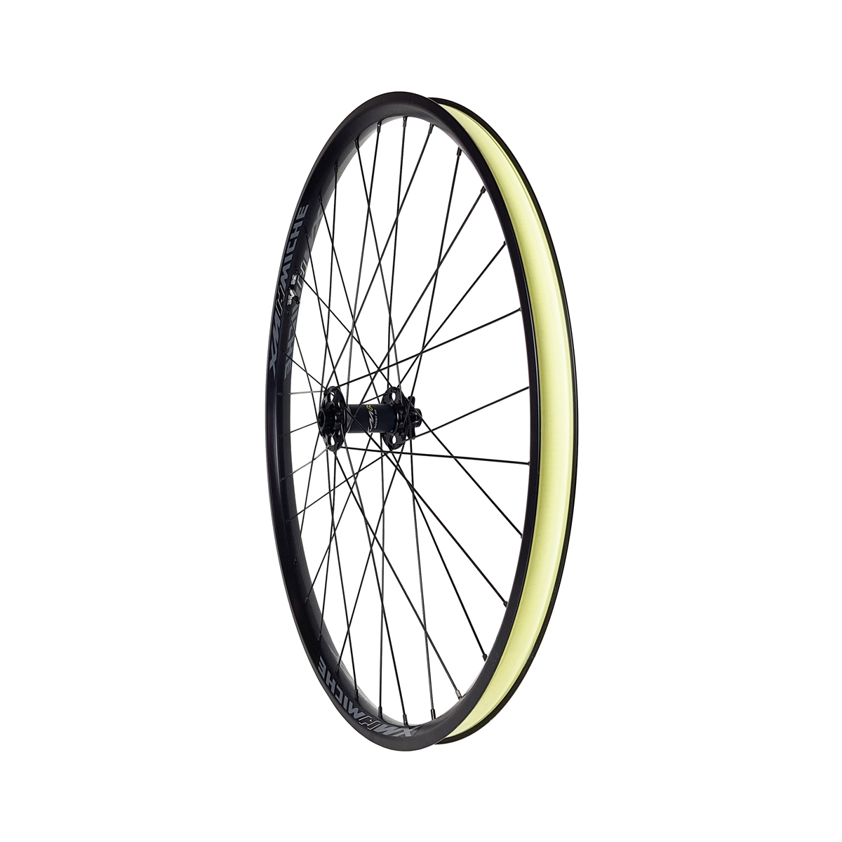 Ruote Anteriore Boost E-Bike 29'' XMH30 AXY Canale 30mm Tubeless Ready Nero
