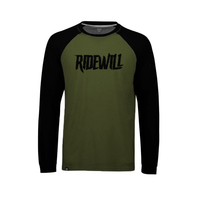 Long sleeve Jersey Ridewill Limited Edition green size M