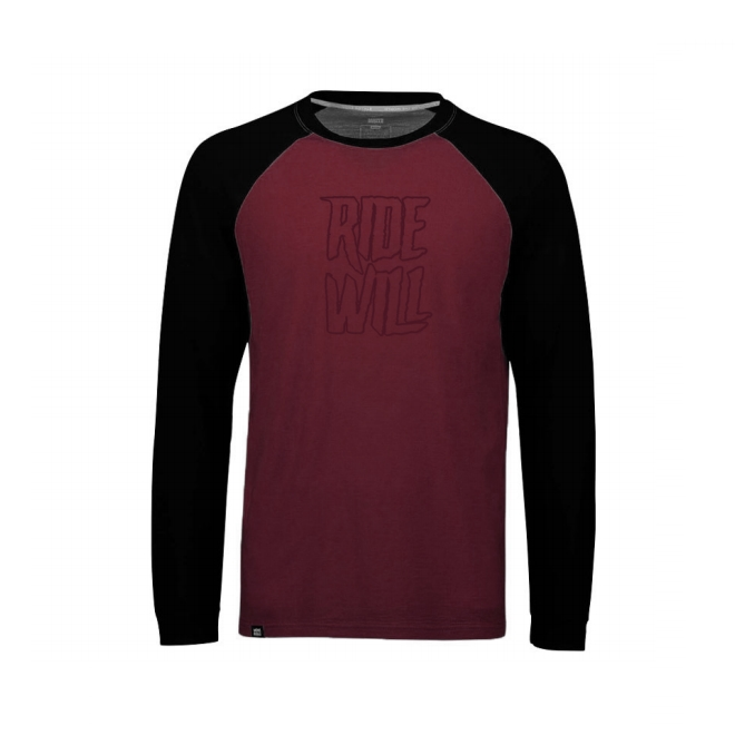 Long sleeve Jersey Ridewill Limited Edition Bordeaux size M