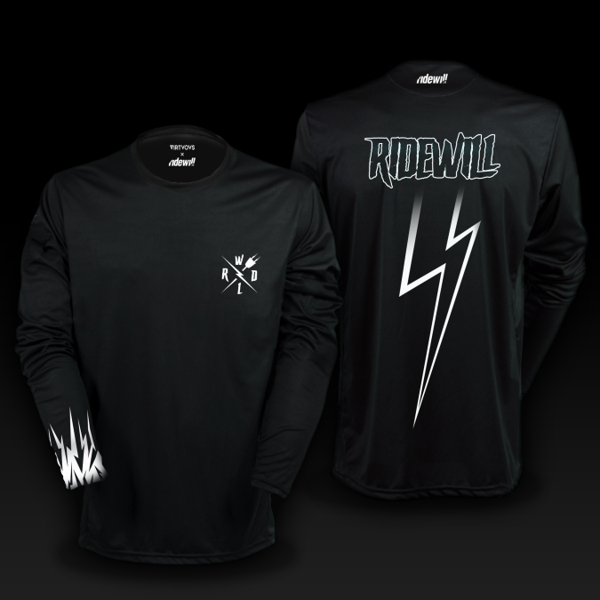Long sleeve Jersey Ridewill Limited Edition black size S