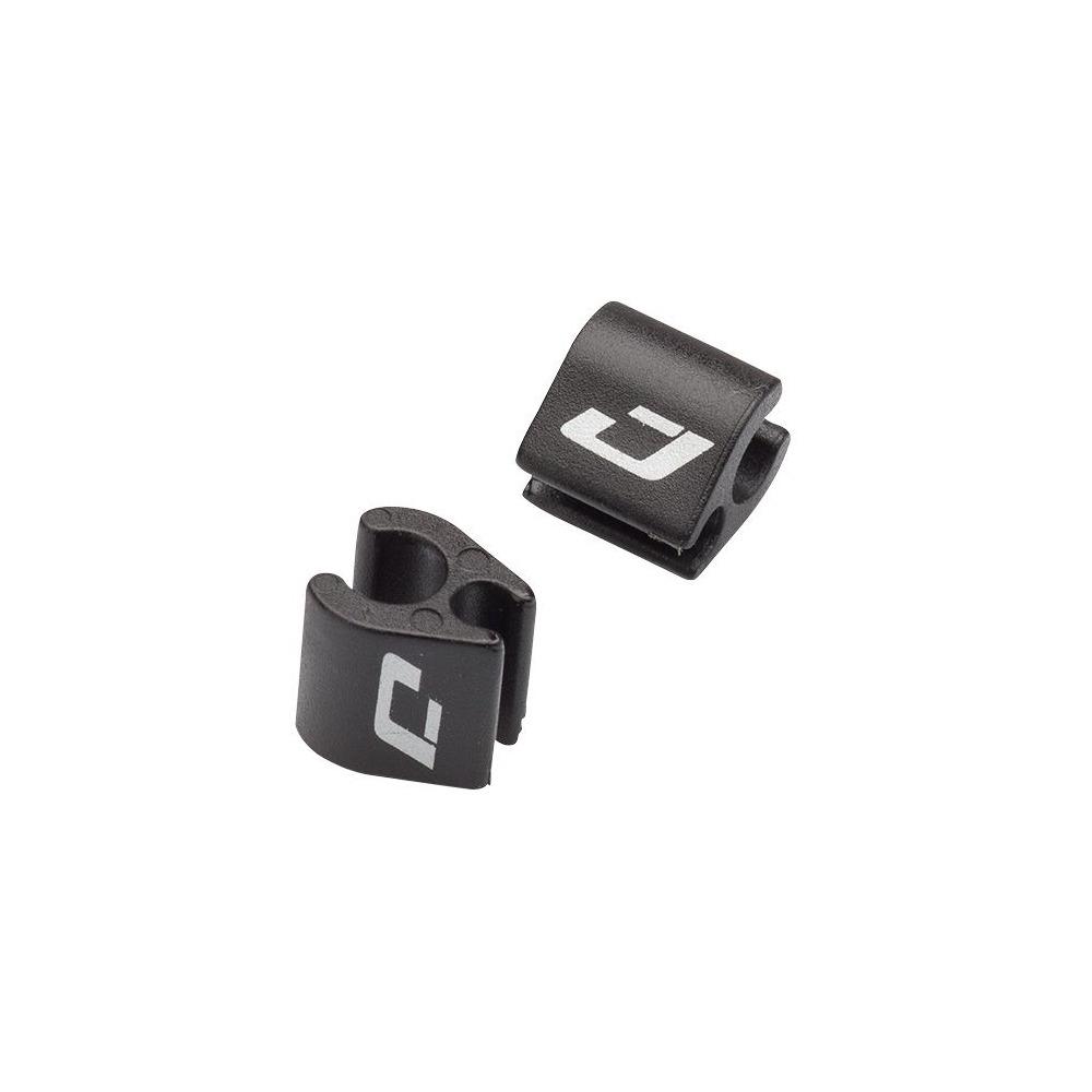 E-Shift and Brake Wire Hook Nylon Black 4pcs
