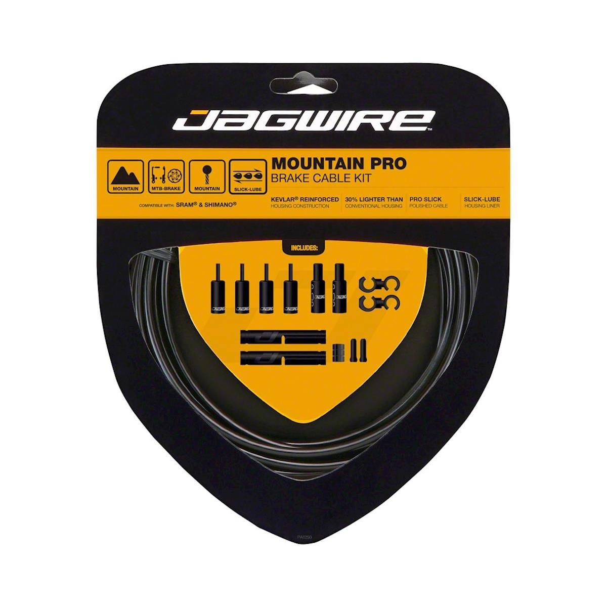 Mountain Pro Brake Cable/Housing Kit MTB Black