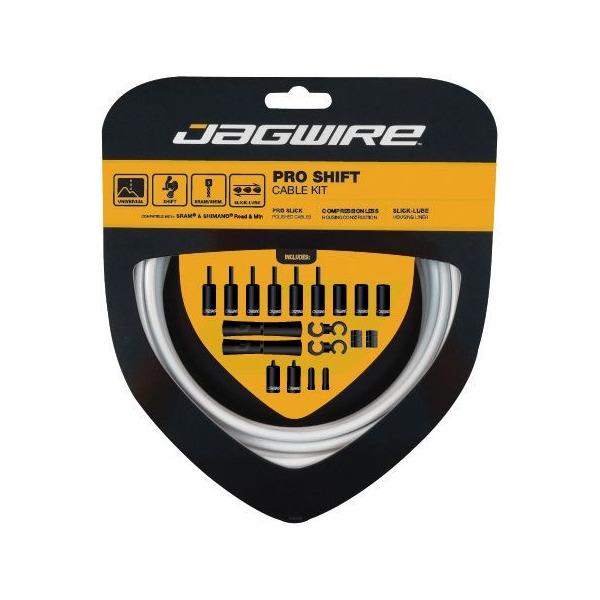 Pro Shift Cables/Housing Kit White