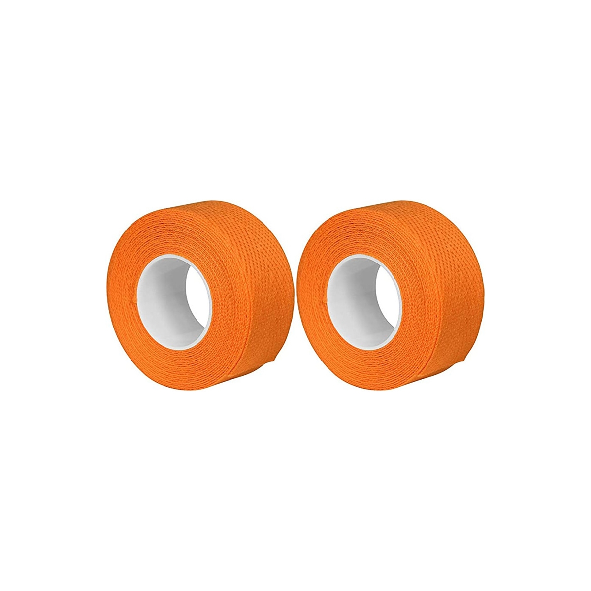Pair cotton vintage retrò handlebar tape orange