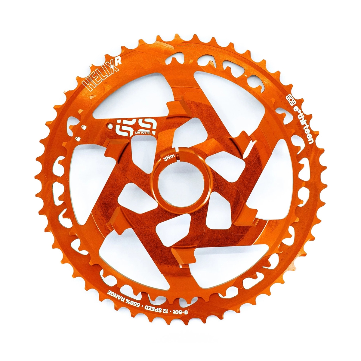 Helix Race 12s Cassette Replacement Cluster 42-50T SRAM XD/XDR Orange