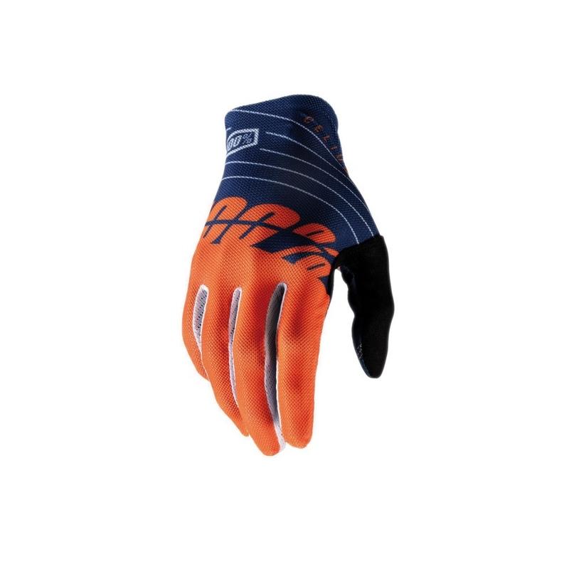 Guanti Celium Blu/Arancio Taglia S