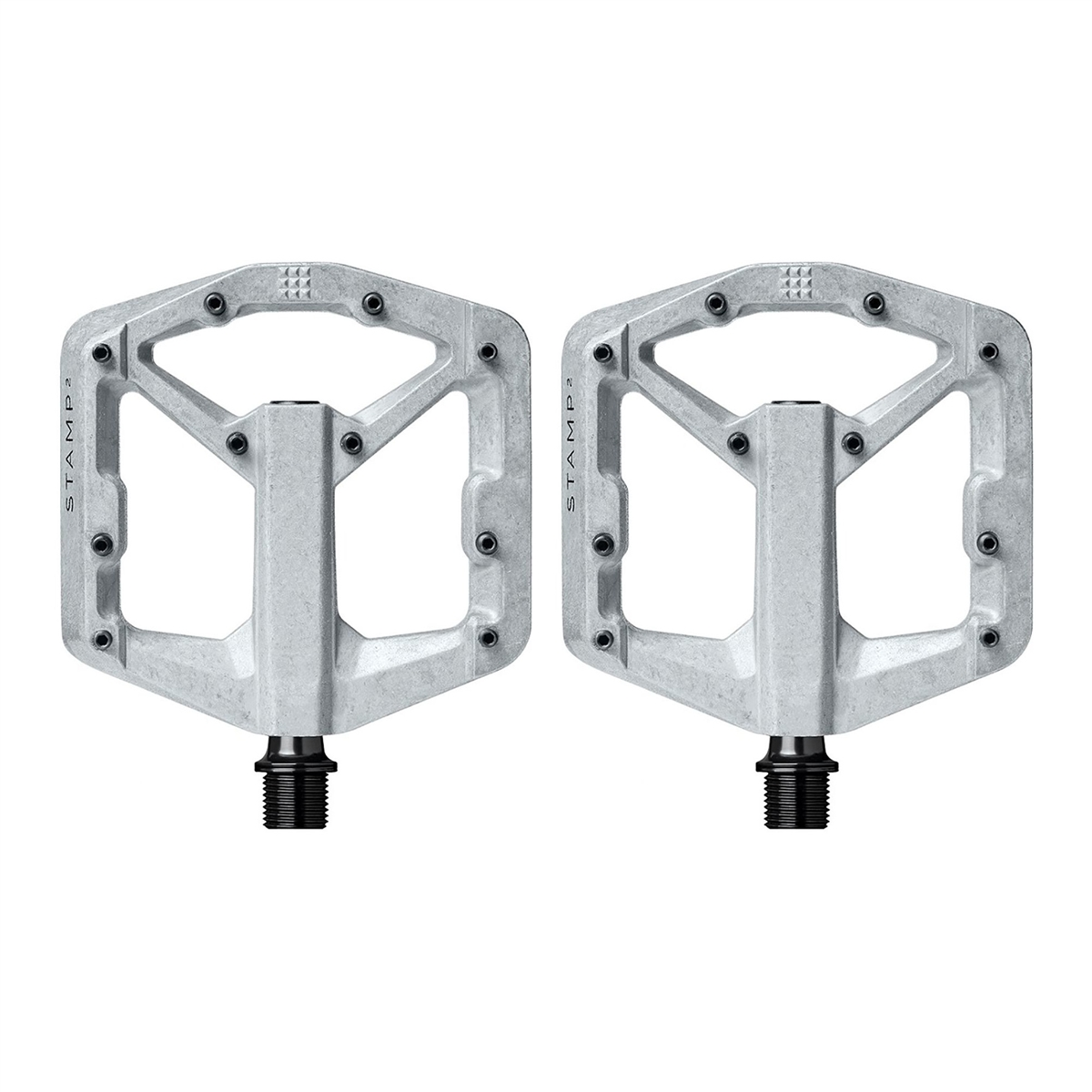 Pair of pedals Stamp 2 Small Silver
