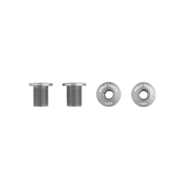 Kit 4 Viti per Monocorona M8 x 0.75 Lunghezza 10mm Argento