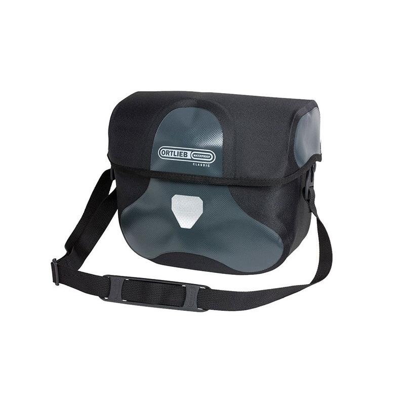 Front Handlebar Bag Ultimate Six Classic 7L Asphalt Black