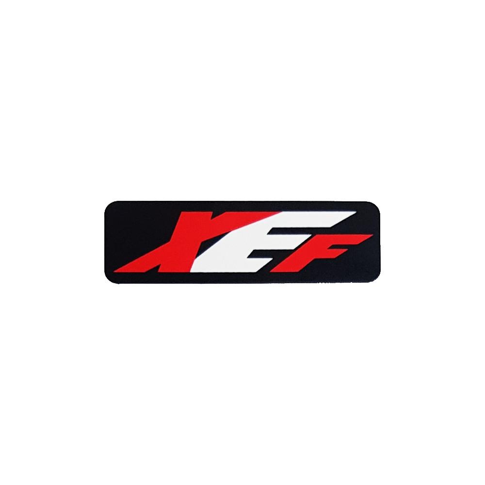 XEF Sticker Black/white/Red