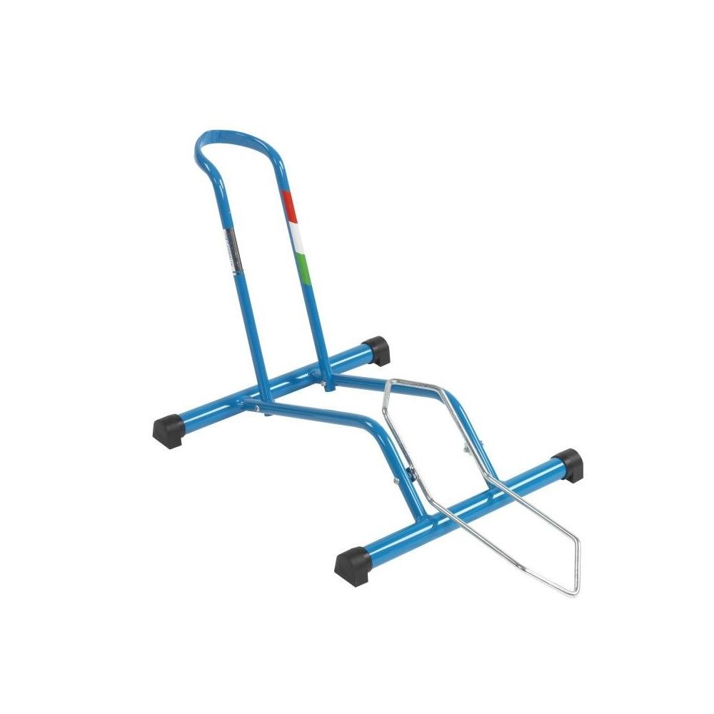 Cavalletto Bici Universale Stabilus Azzurro