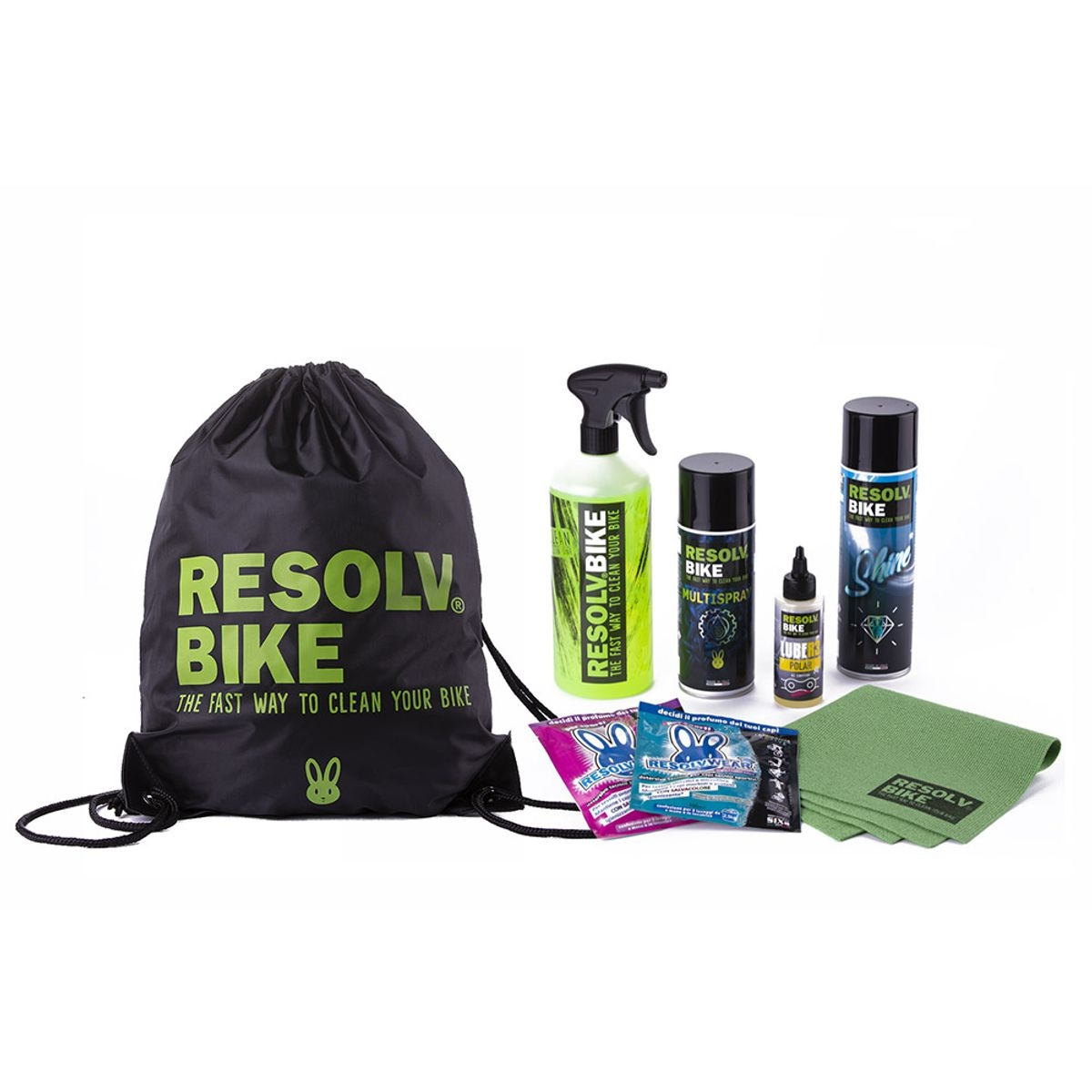 Kit For Complete Bike And Motorcycle Care