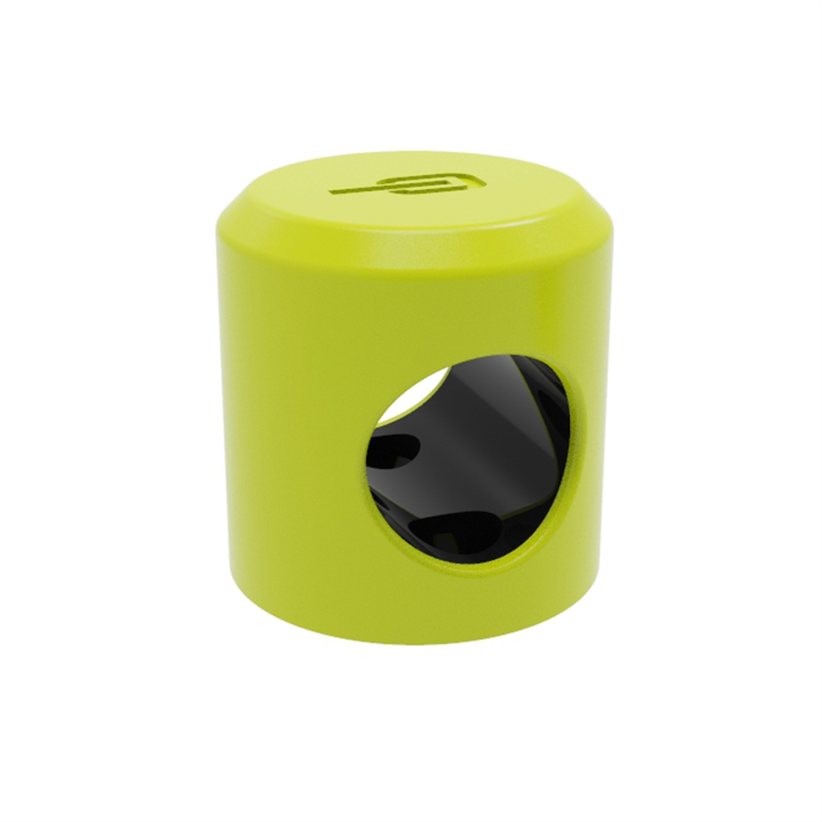 Ankr Mini Wall/Ground Anchor for Bikes and Scooters Yellow