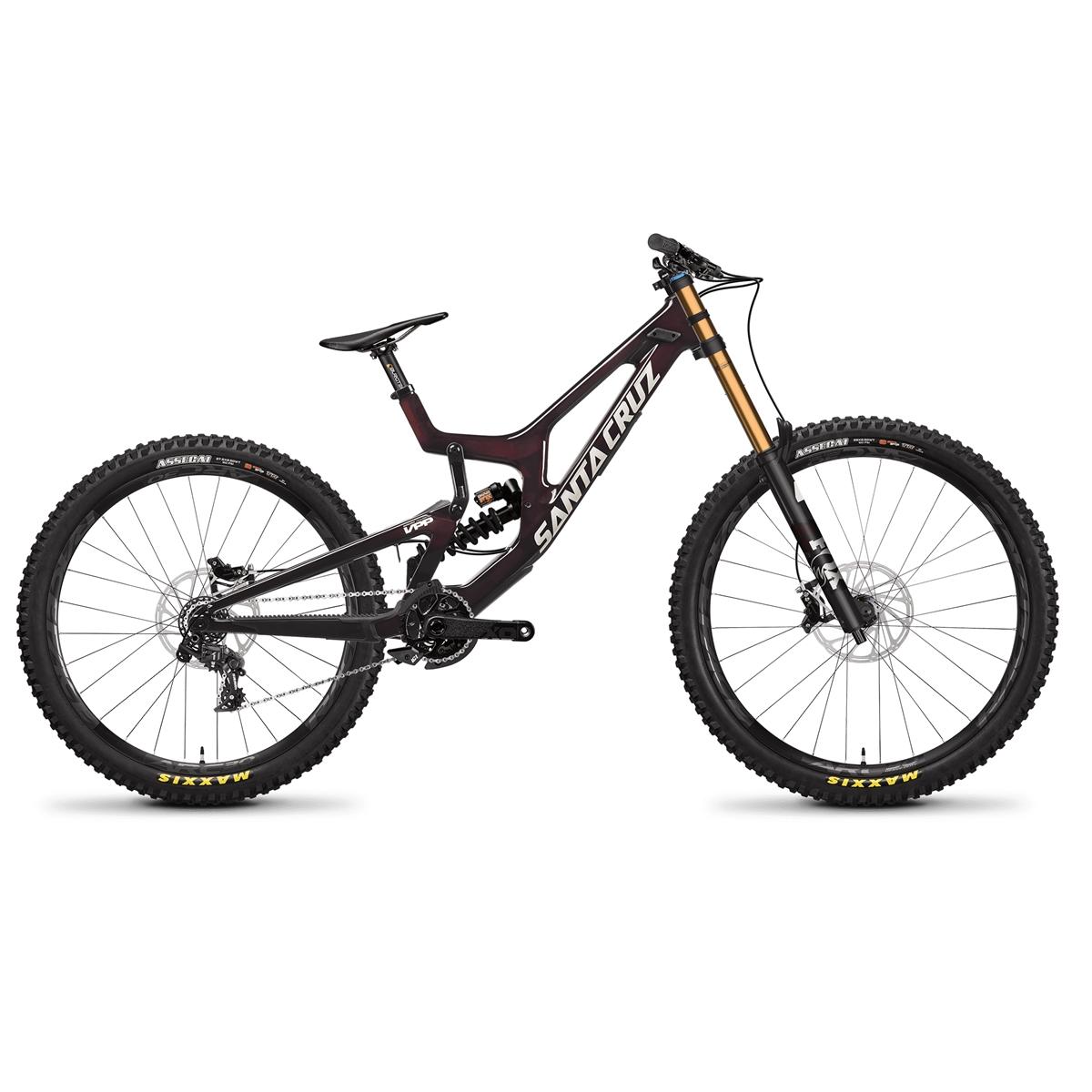 V10 Carbon CC DH X01 Mix 29''/27.5'' 7s 203mm Oxblood 2021 Size M