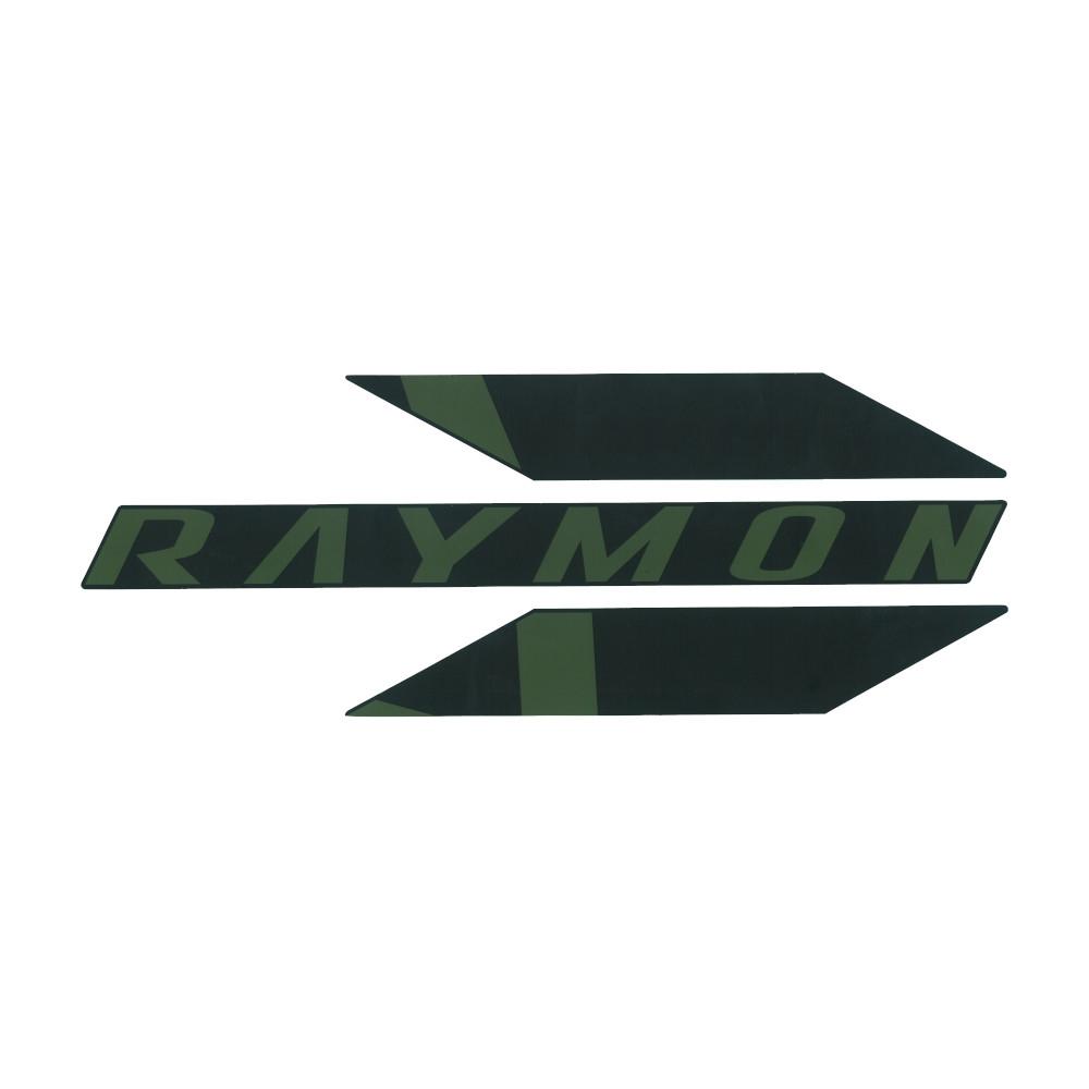 Adesivo Skidplate per TrailRay E 11.0 Nero/Verde