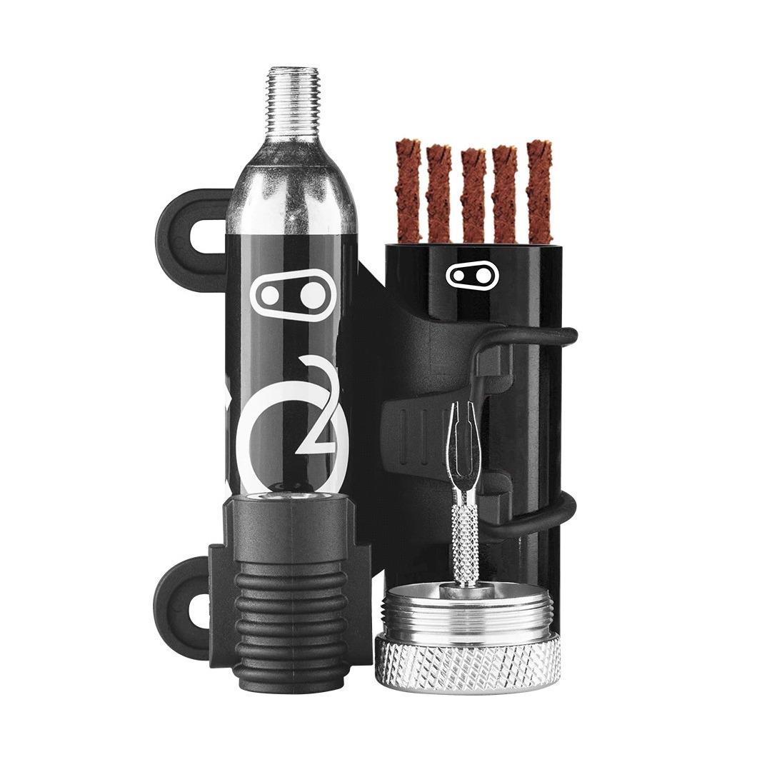 Kit Riparazione Tubeless Cigar con Adattatore CO2