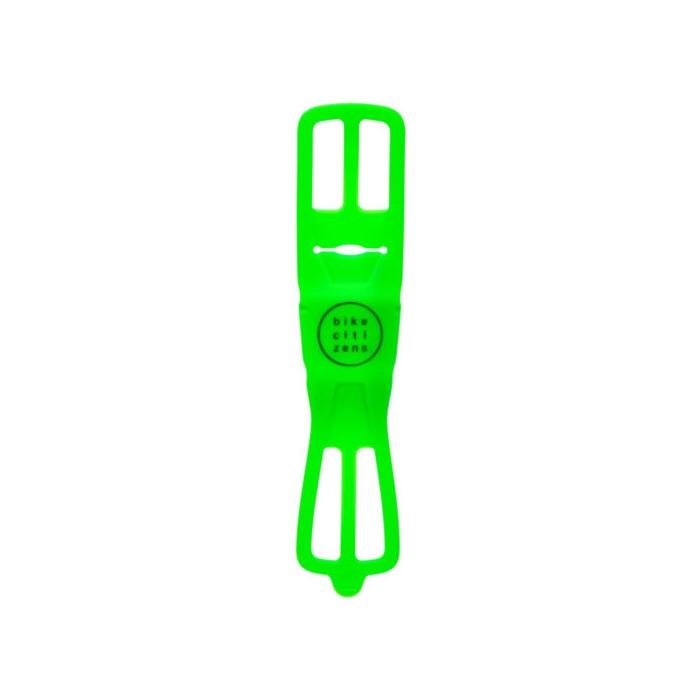 Supporto Smartphone Universale al Manubrio FINN in Silicone Verde