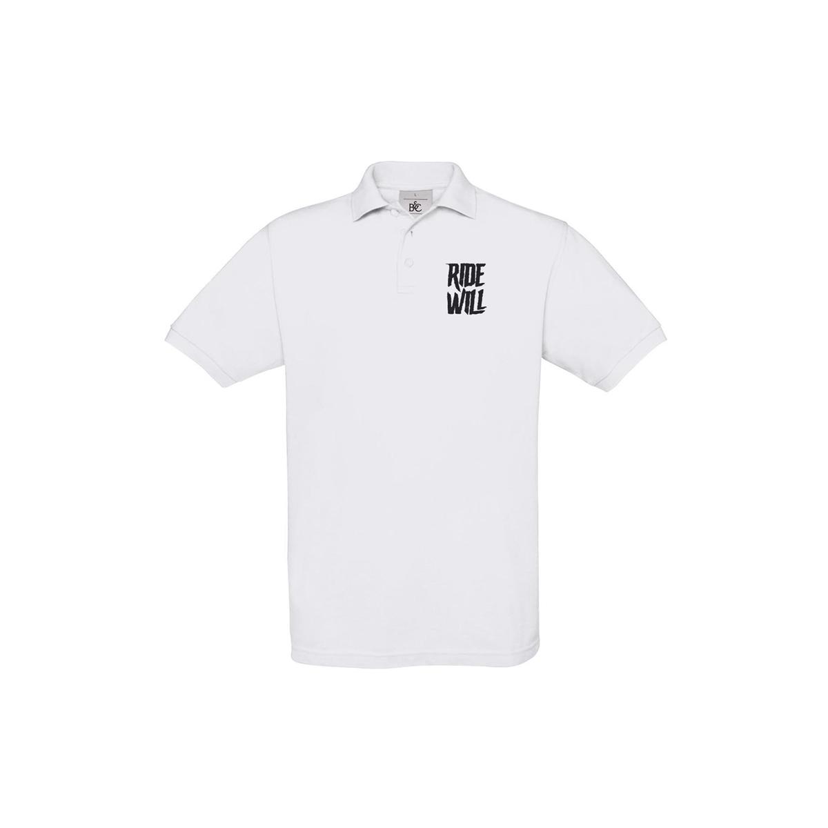 Polo Shirt Legacy White Size S